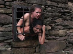 caged girls know their place