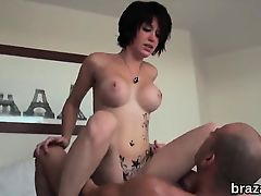 Casting centerfold goes home after hardcore sex and butt hol
