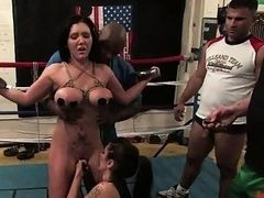 Deep and merciless fur pie thrashing for a whore