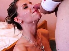 Doggy style fuck and cumshot for Sindy Vega