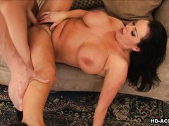 mature brunette knows her way around a dick