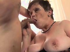 Hot mature hardcore and cumshot