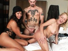 hotgold anal threesome in portuguese