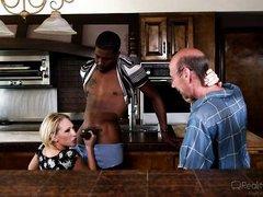 black guy makes him a cuck @ mom's cuckold #16