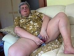 OldNanny Pretty girl and fat granny masturbating