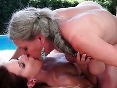 Grannies and Pretty Teens Hot Love Compilation
