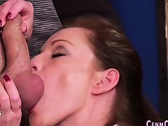 British babes sucking rod