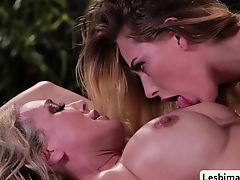 Carter and Brandi loves grind their pussies