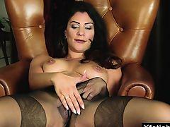 Big tits pornstar fetish with cumshot