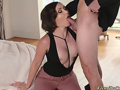 Real horny milf orgasm first time Auntie To The Rescue