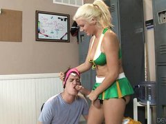 pervert gets caught sniffing panties @ pegging - a strap on love story #09