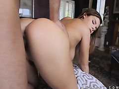Massive black cock sucked by Keisha Grey